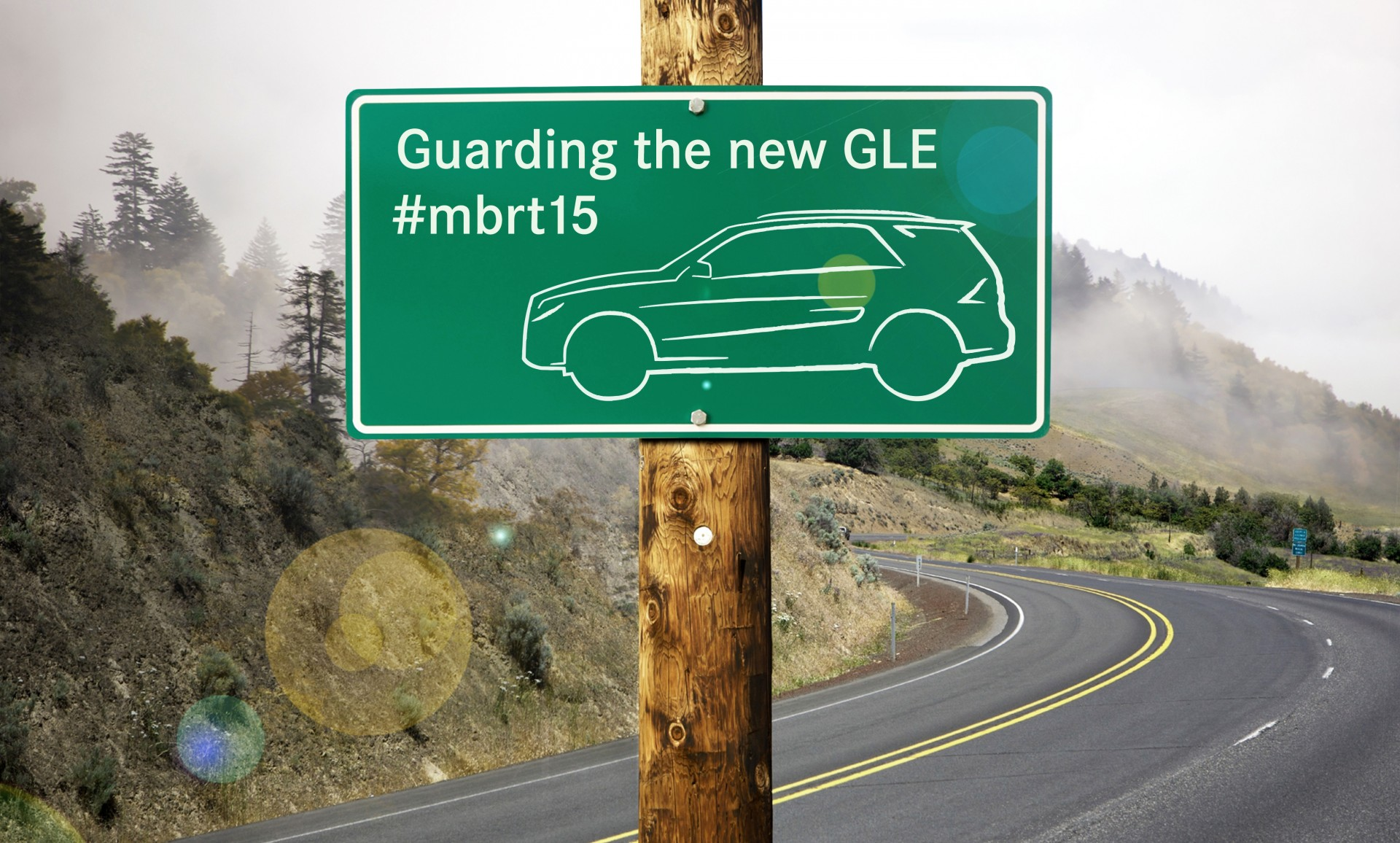 "#mbrt15 Mercedes-Benz road trip 2015 ""Guarding the new Mercedes-Benz GLE"