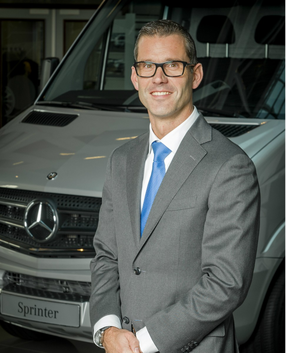 Mark Horsten Benoemd Tot Manager Sales Mercedes Benz Vans