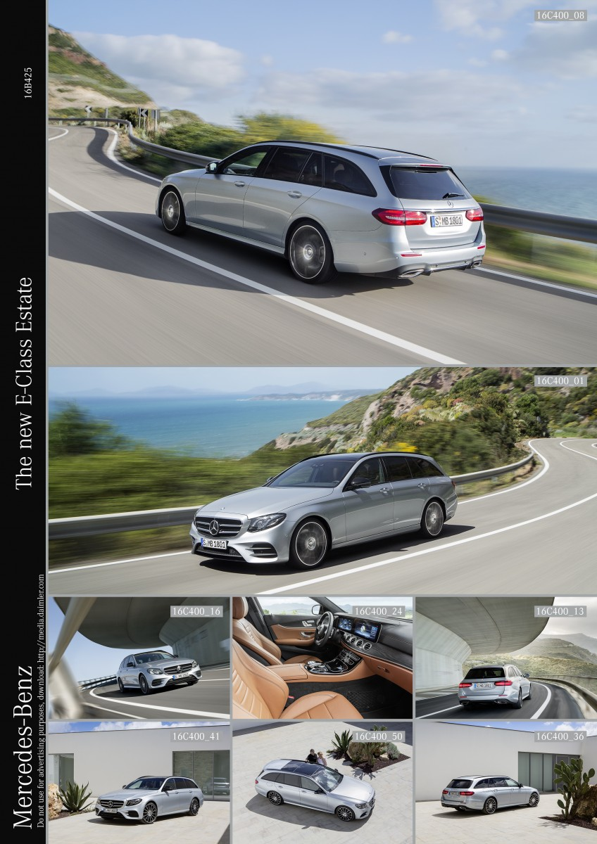 The new E-Class Estate 2016