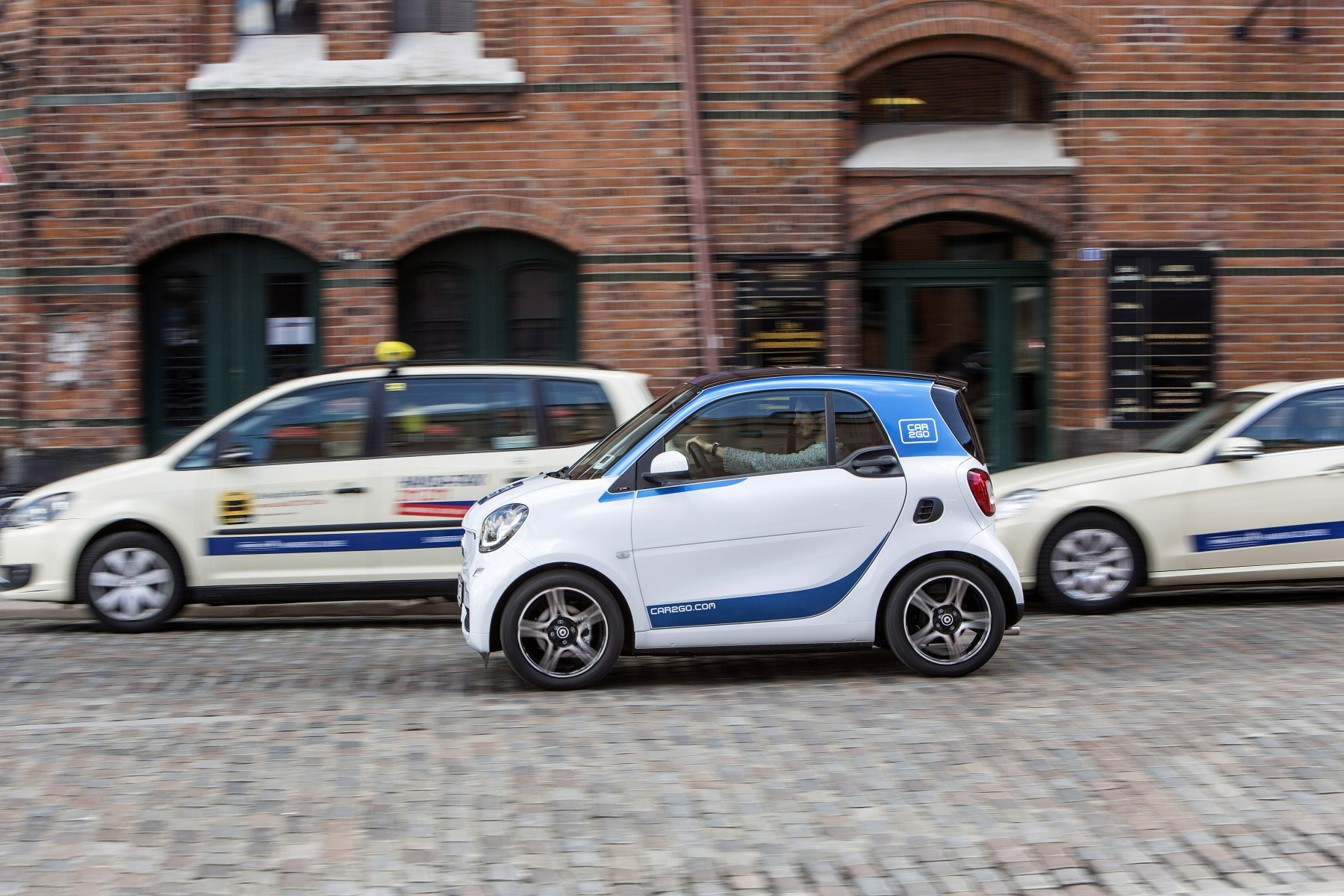 car2go van start in Brussel