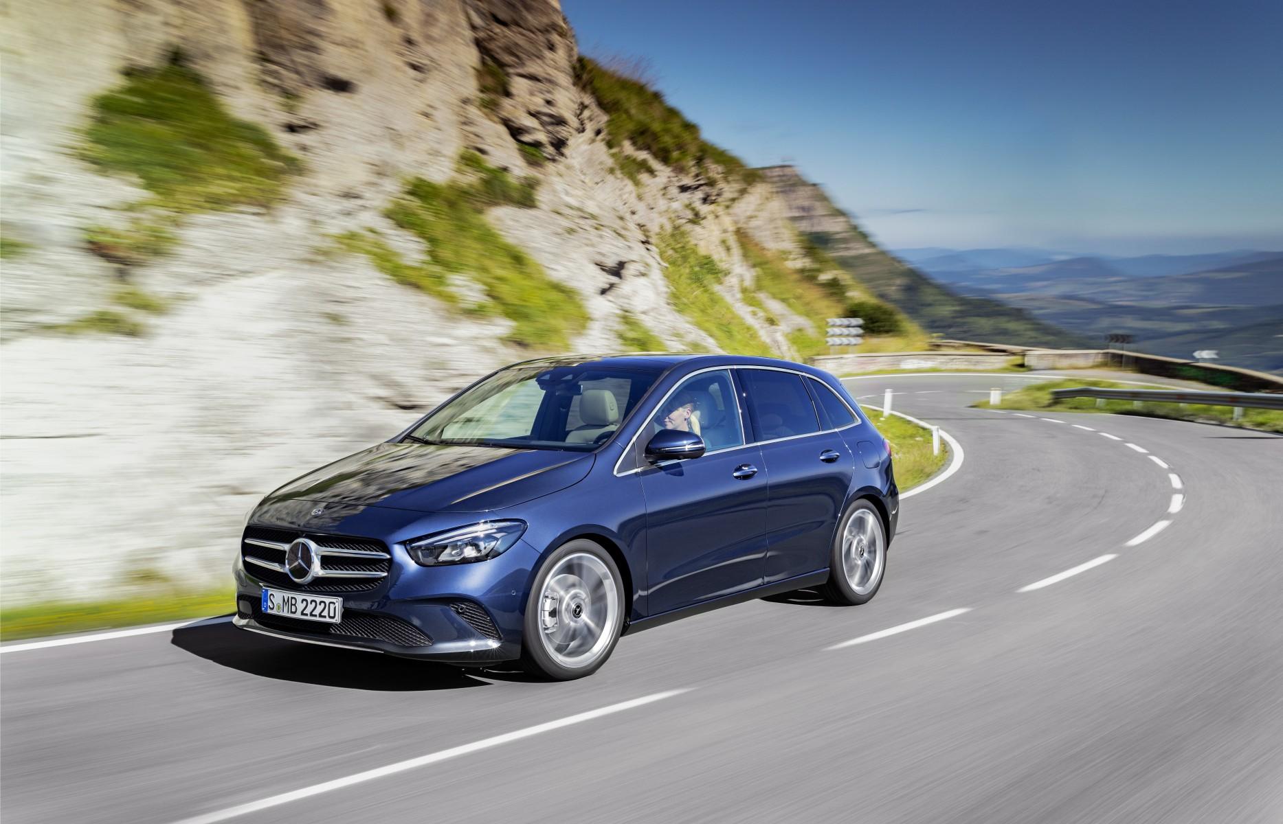 Nieuwe Mercedes Benz B Klasse Is Vanaf Nu Te Bestellen