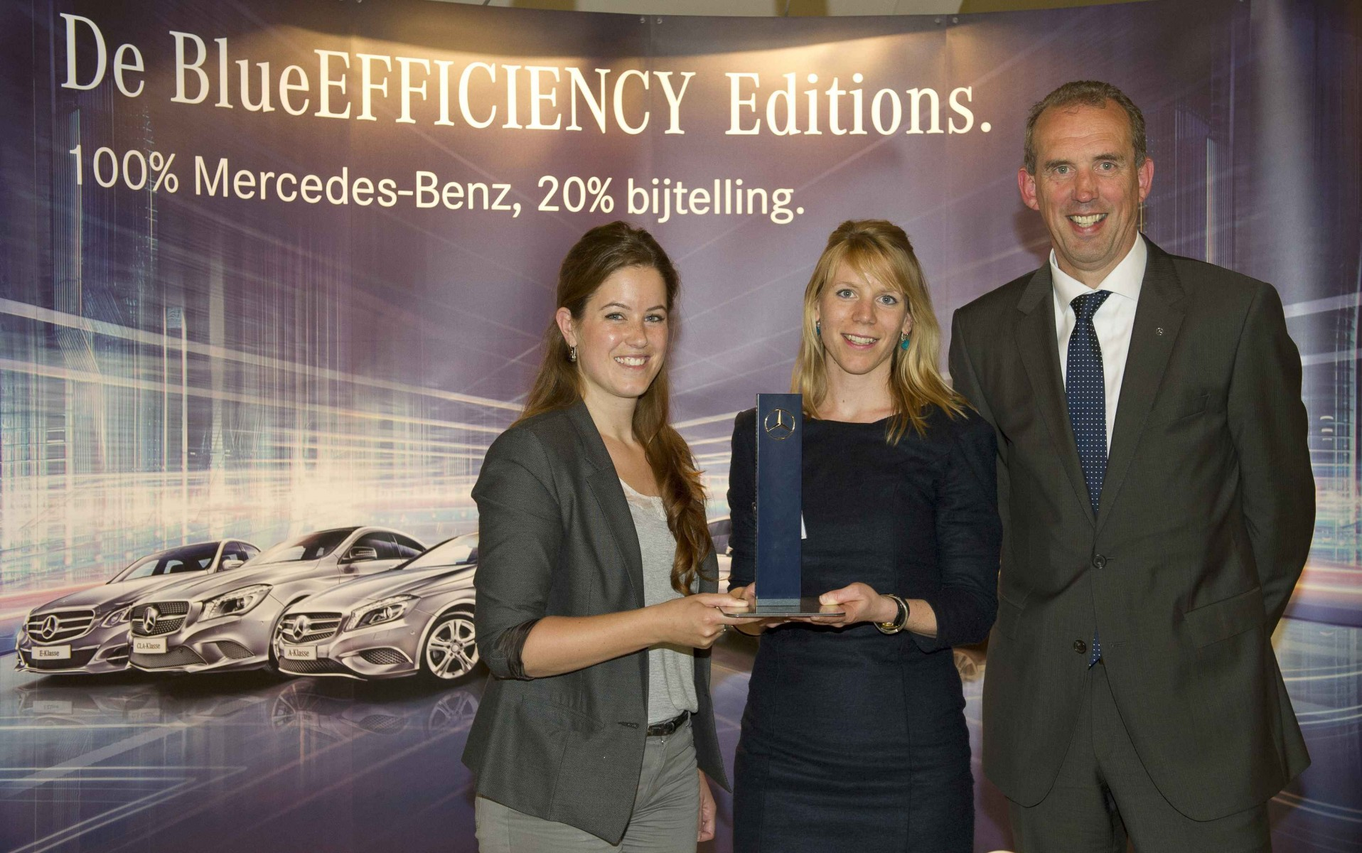 Mercedes-Benz BlueEFFICIENCY Award 2013 uitgereikt