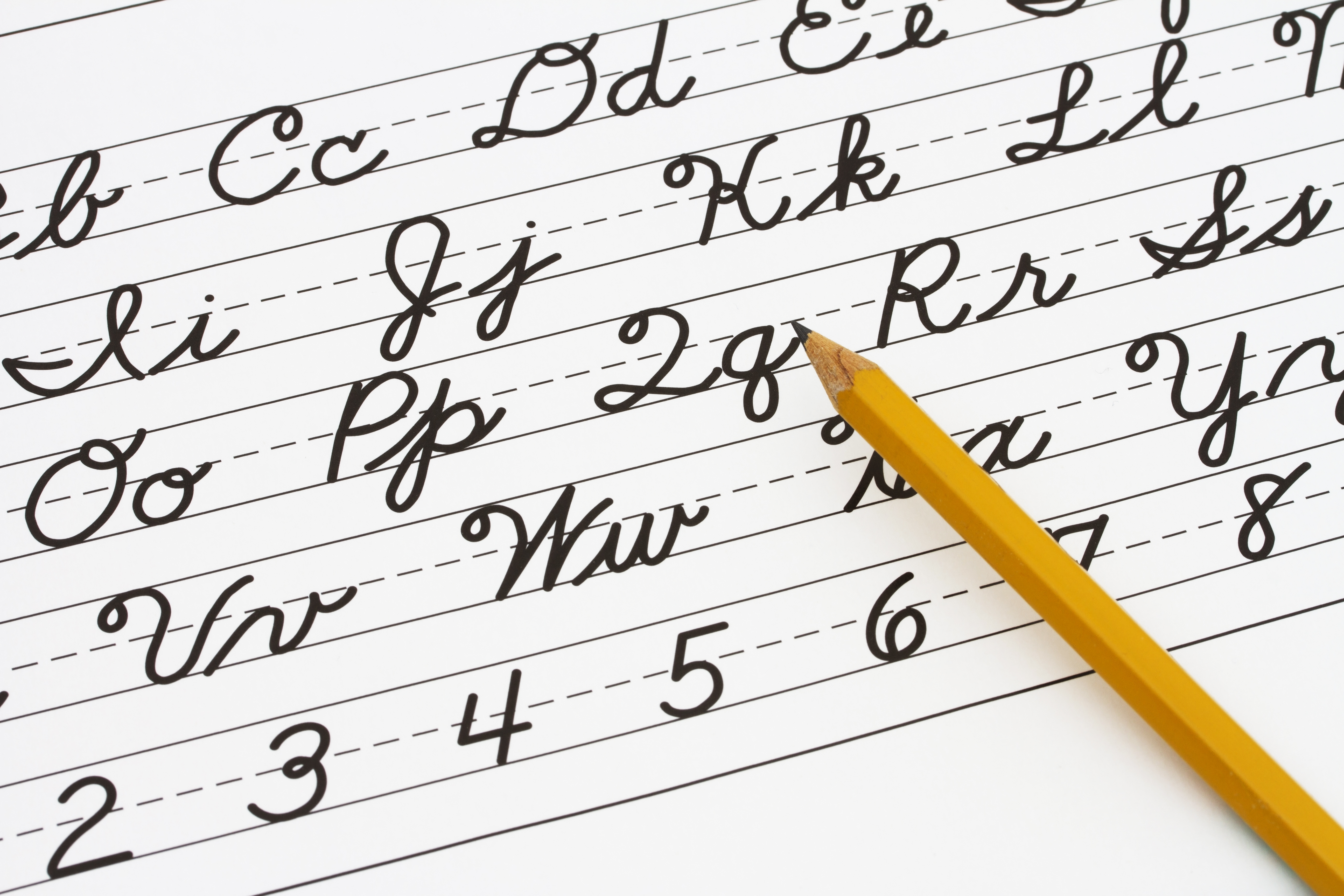 Worksheets How To Write Proper Cursive should cursive handwriting die
