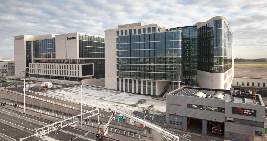 Redevco and etex move into the passport building at brussels airport - Brussels airlines head office ...
