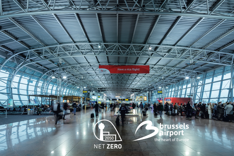 Brussels Airport Netzerocarbon