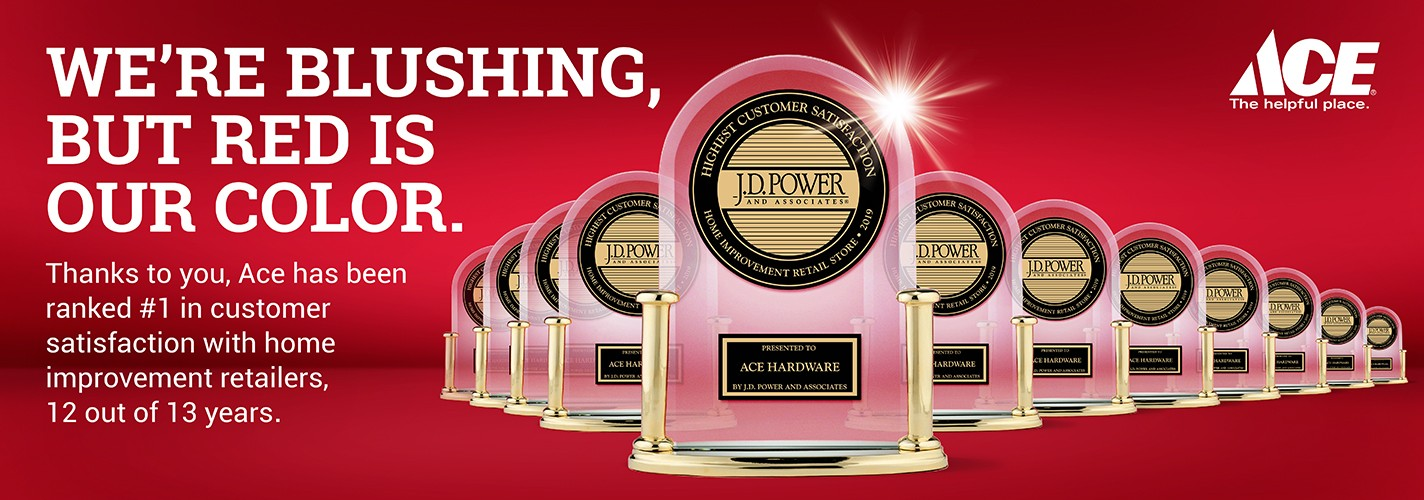 Ace Hardware JD Power Award