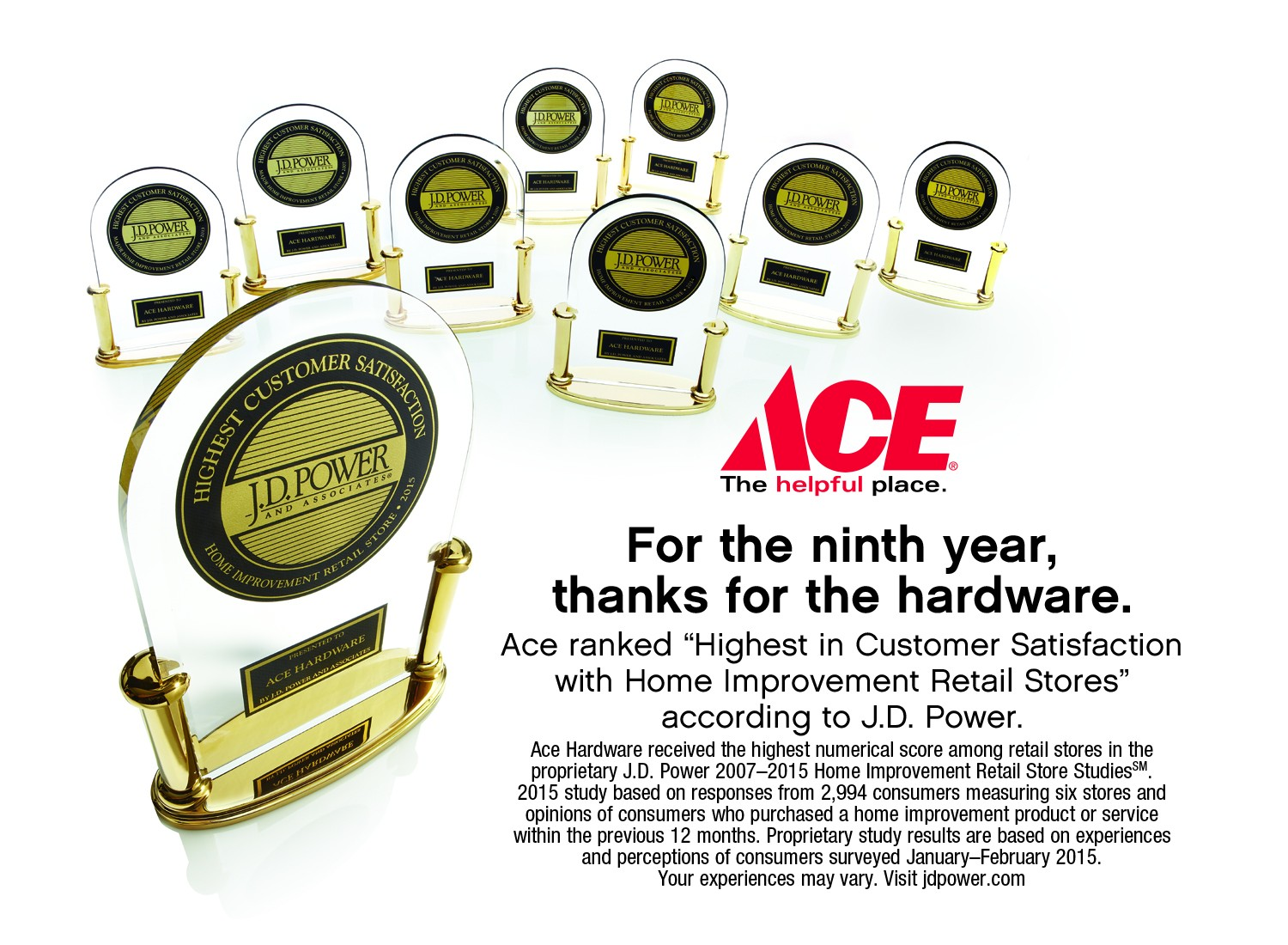 Ace Hardware Ranks Highest In Customer Satisfaction By J.D