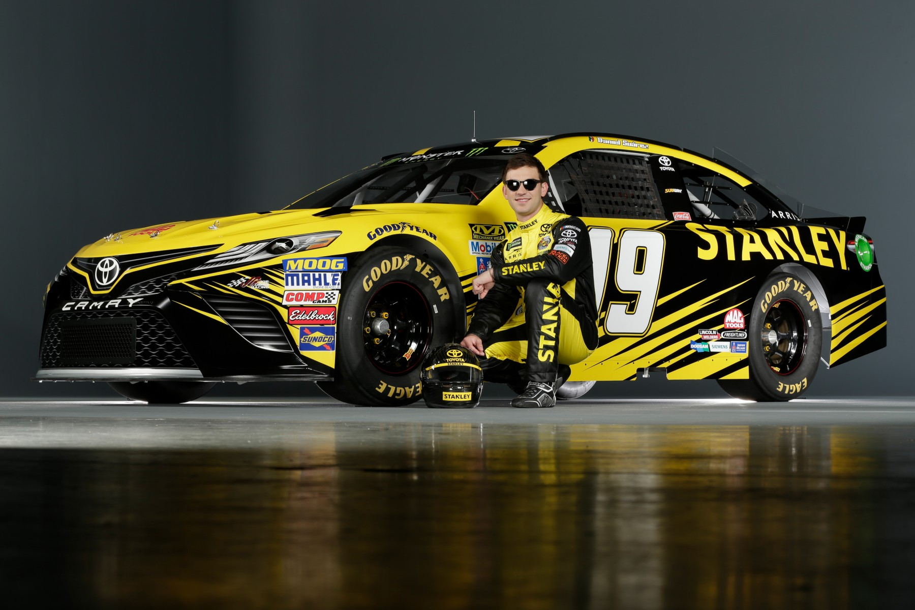 Daniel Suarez And No 19 Stanley Team Race For A Miracle This Weekend