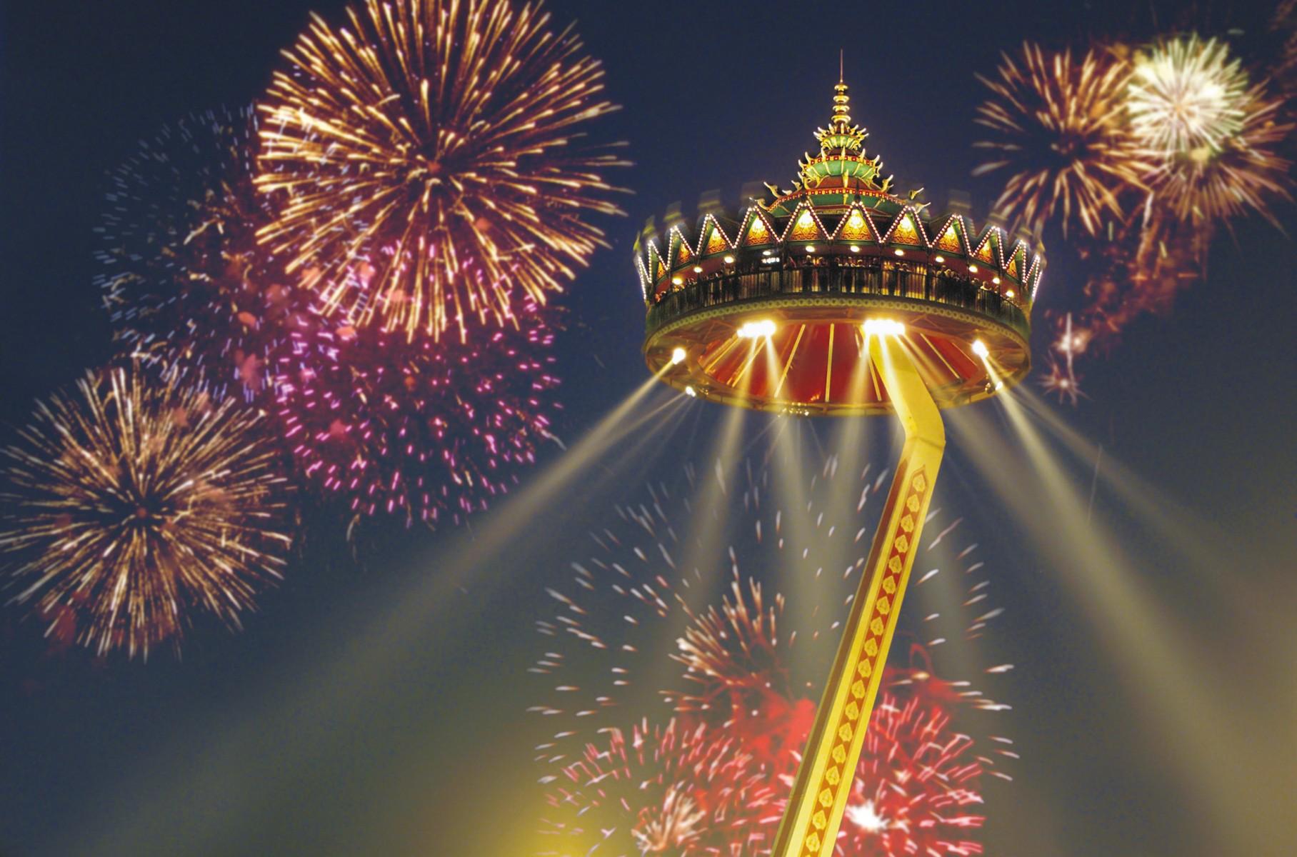 Betoverend Oud Nieuw Feest In De Efteling Luidt 65 Jarig Jubileum In