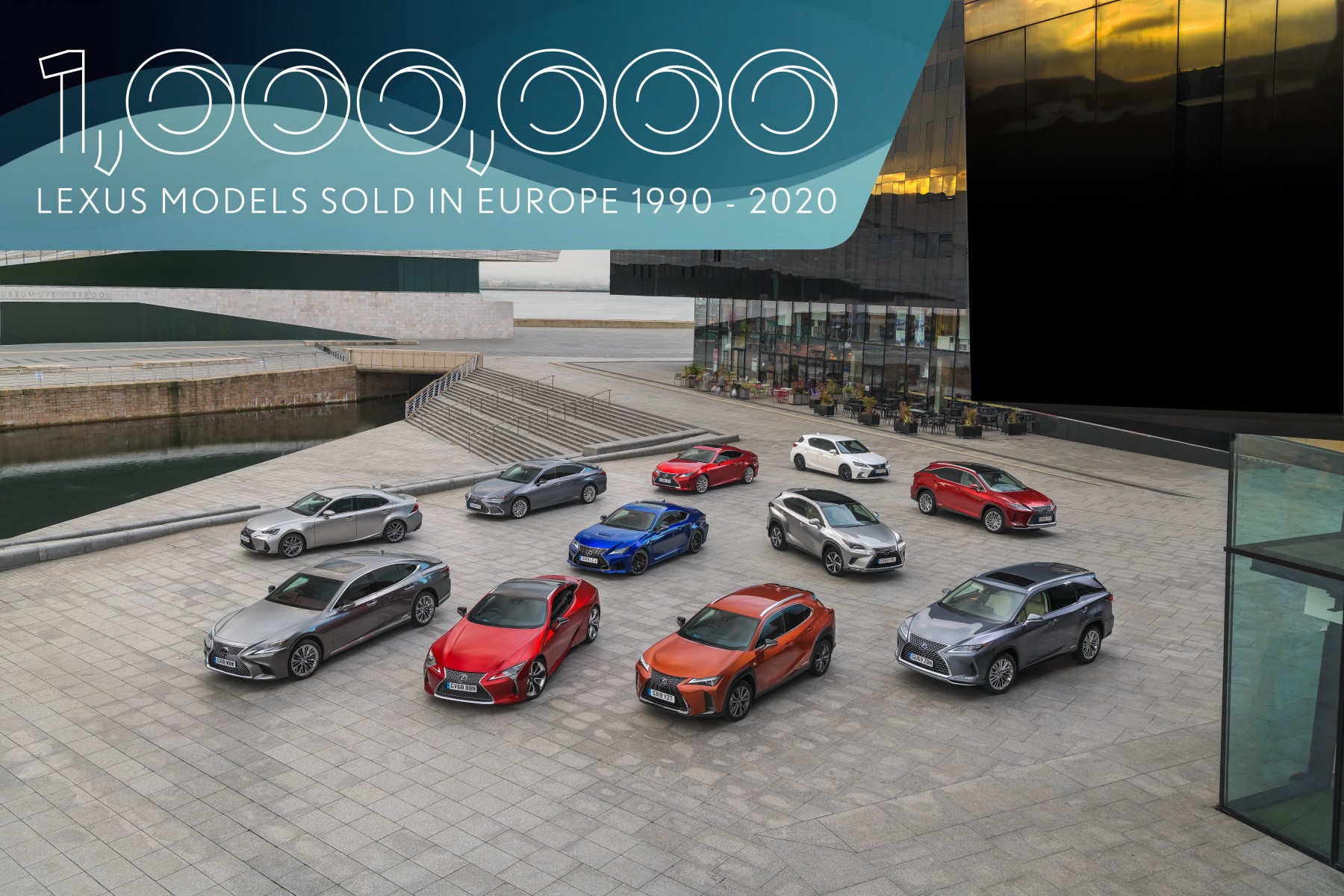 LEXUS RECORDS ONE MILLION SALES IN EUROPE