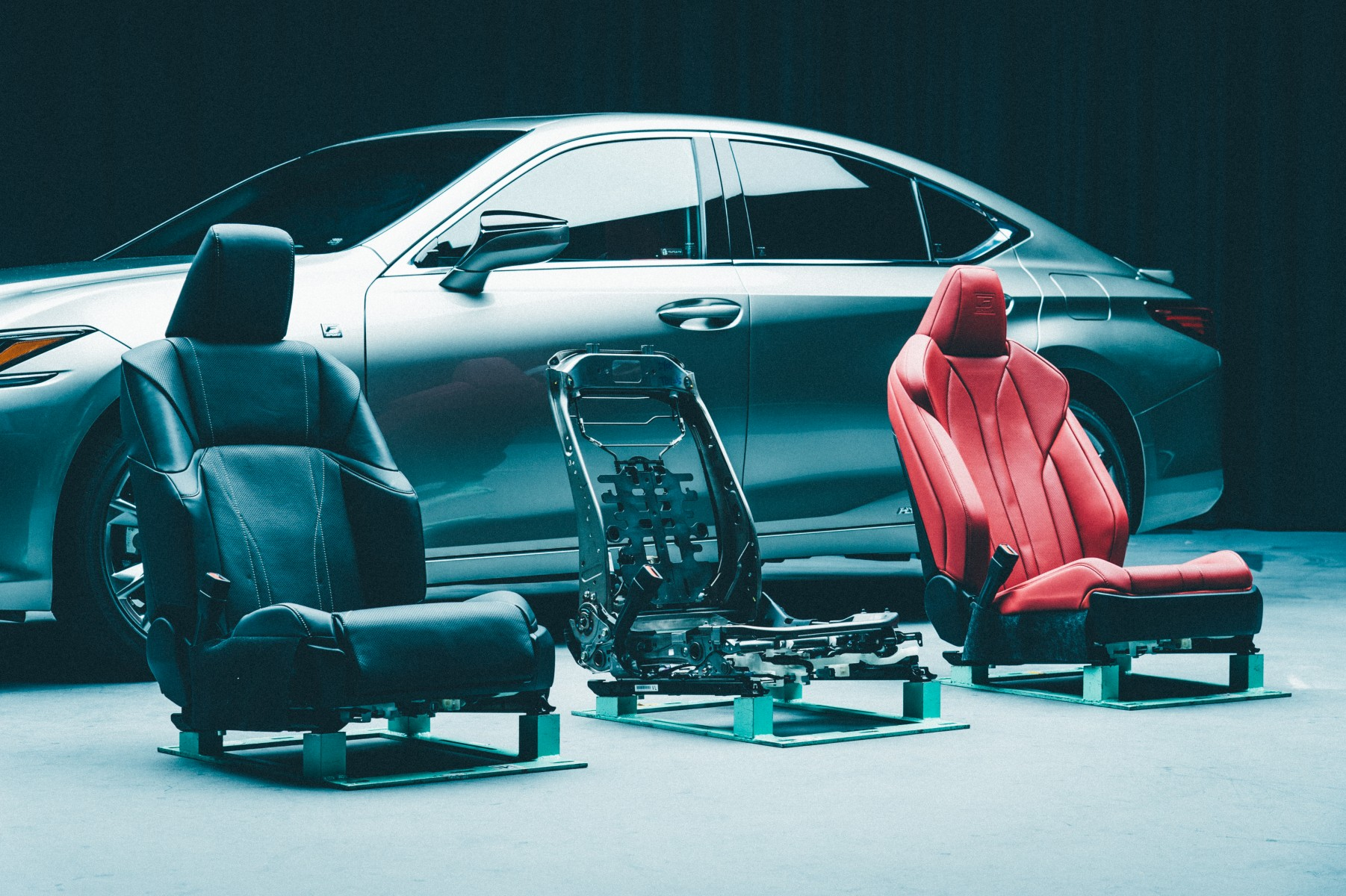 2019 Lexus ES seats prototypes