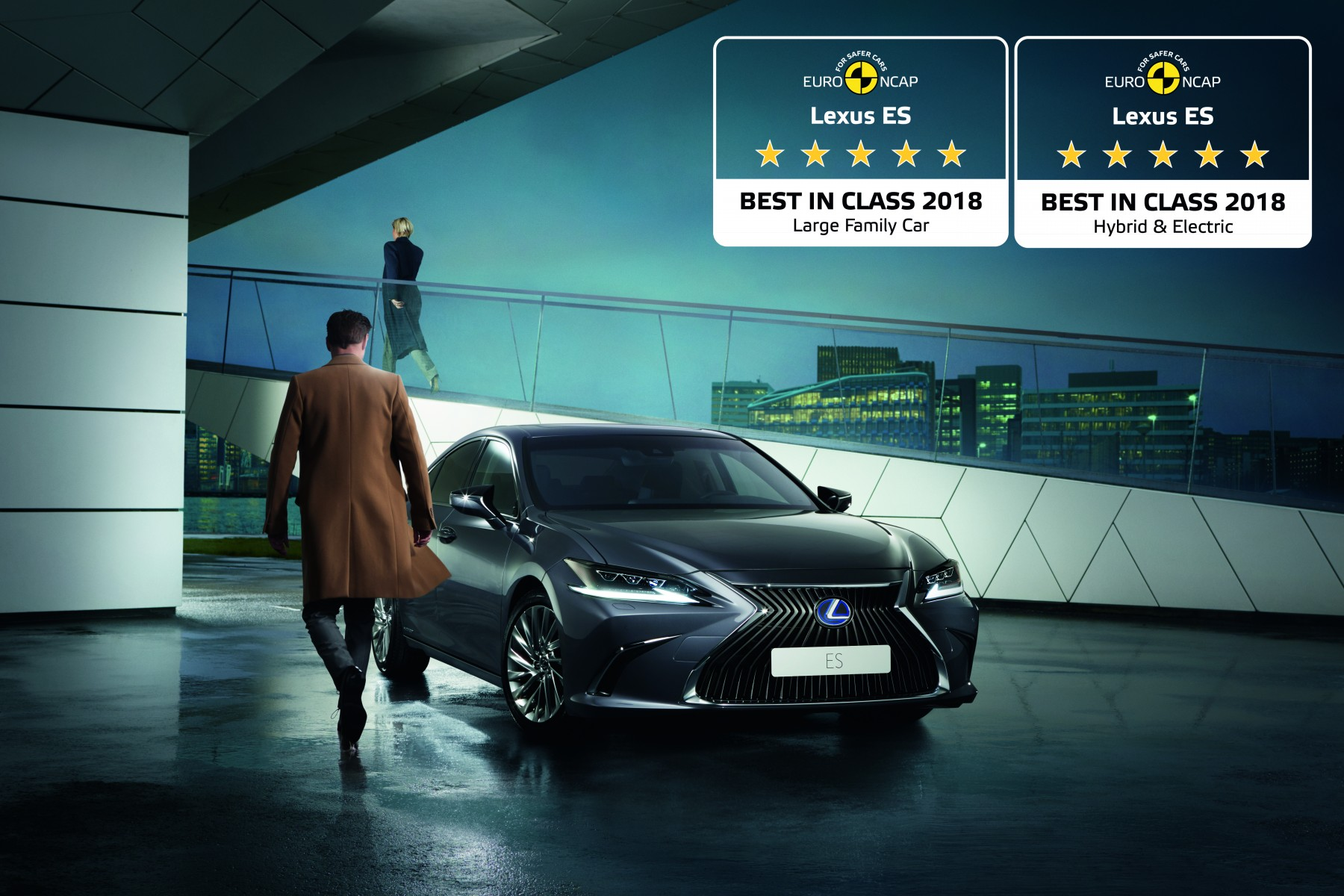 Lexus Electric Car >> All New Lexus Es Is Europe S Safest Large Family Car And
