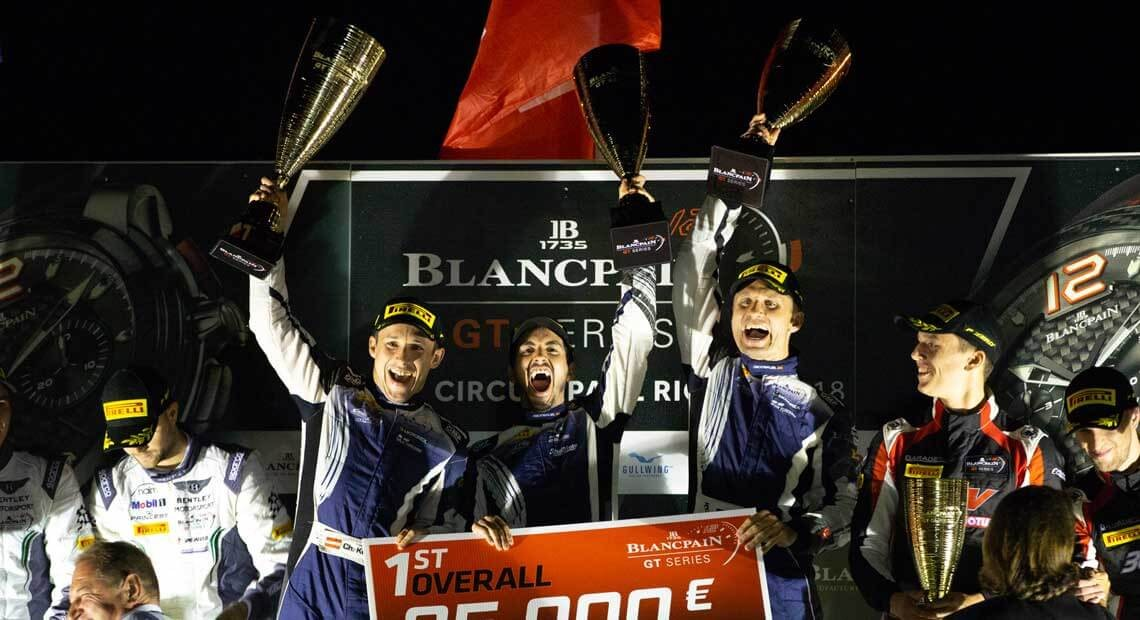 Emil Frey Lexus Racing  victory at the Blancpain GT Series Endurance Cup at Paul Ricard