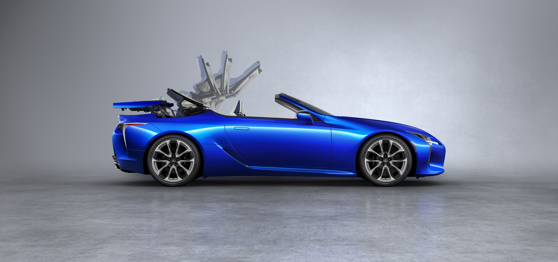 The Lexus Lc Convertible Producing The Perfect Soft Top