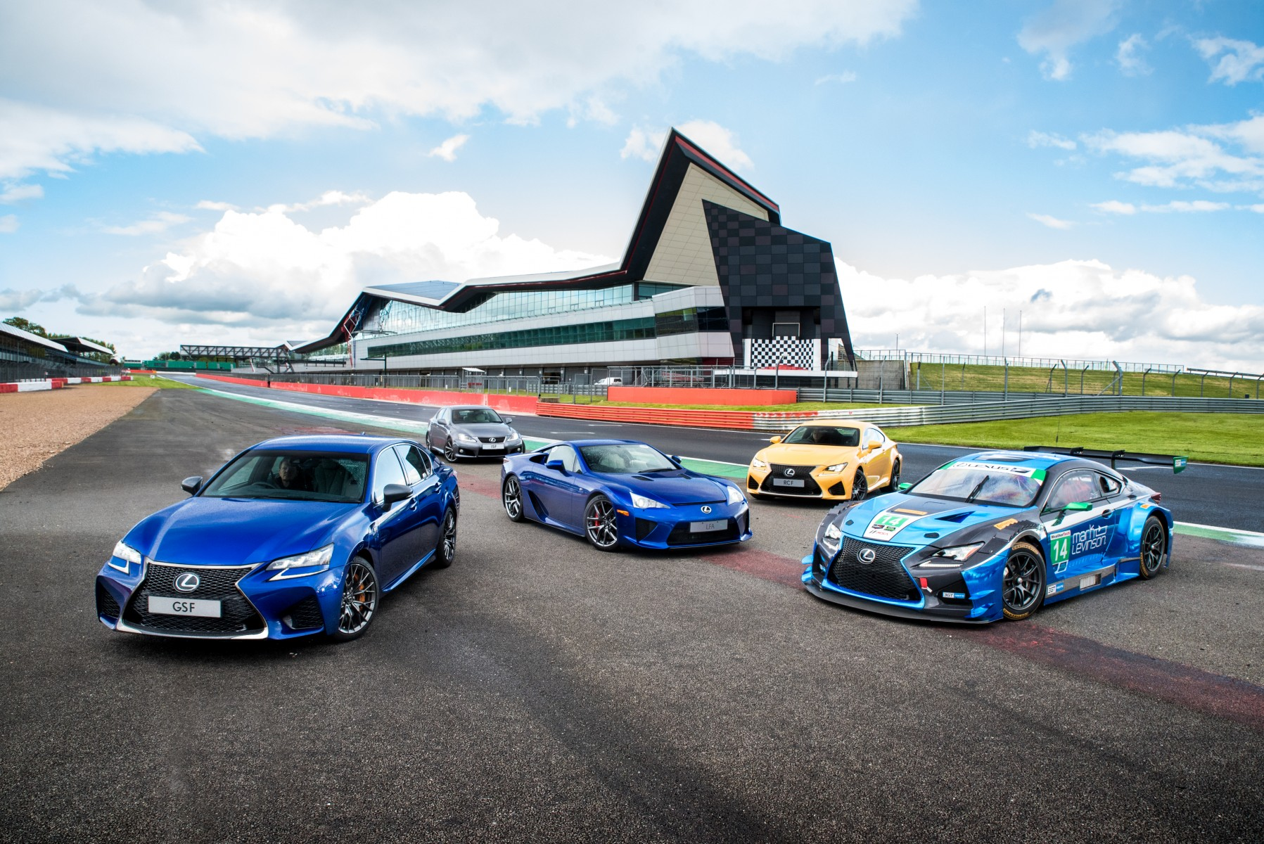 Lexus F line-up 2018