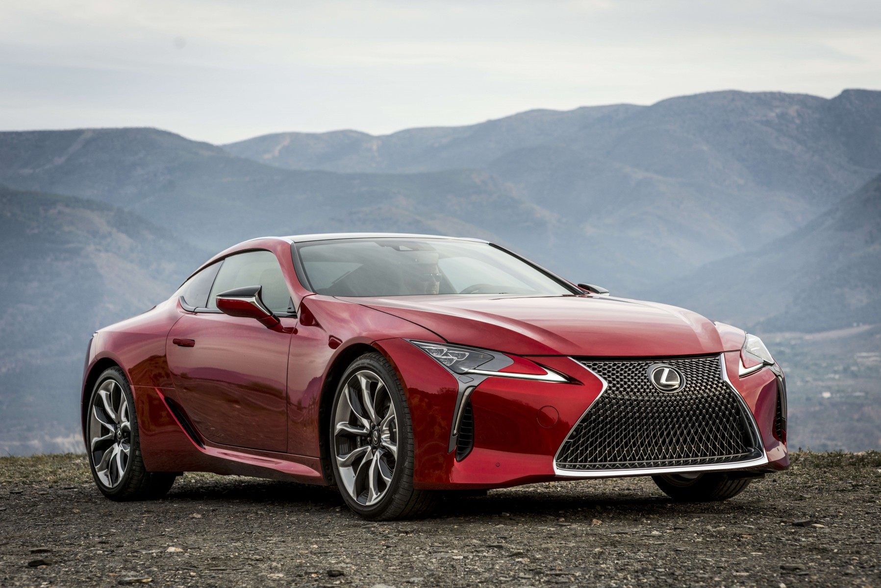 להפליא GLOBAL DEBUT OF THE ALL-NEW LEXUS LC 500 AT THE 2016 DETROIT MOTOR SG-98