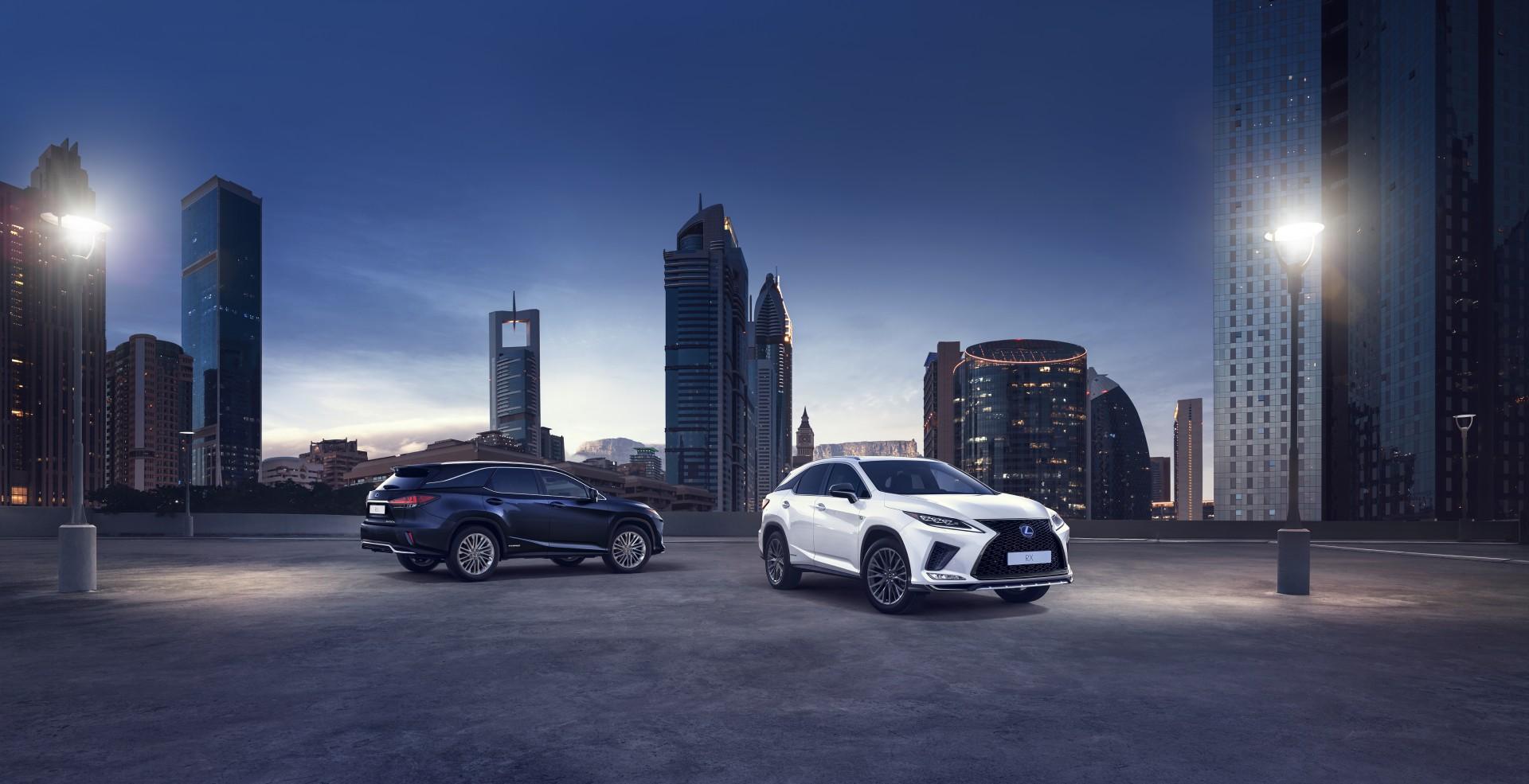 New Lexus Rx Makes World Debut
