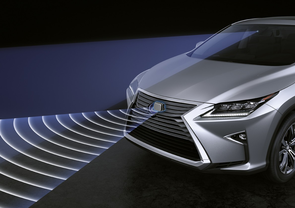 Adaptive Cruise Control (Lexus Safety System +)