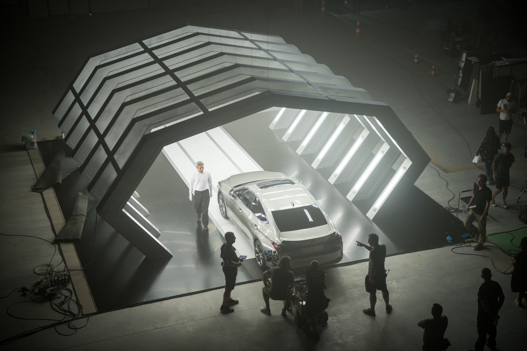 Lexus commissions the world's first film written by AI and shot by Oscar-winning director to launch the new ES executive sedan in Europe