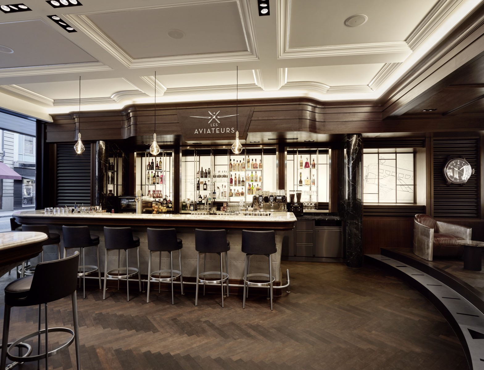 IWC Opens Its First Ever Bar For Lovers Of Whisky Aviation
