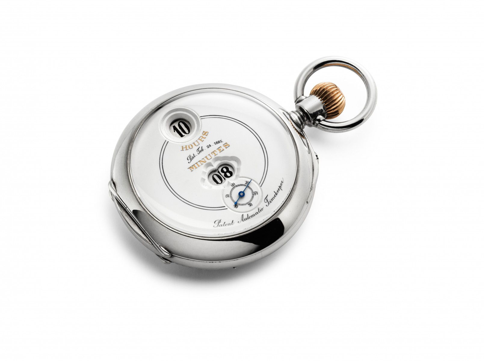 IWC_Savonnette Pocket Watch Pallweber_1886