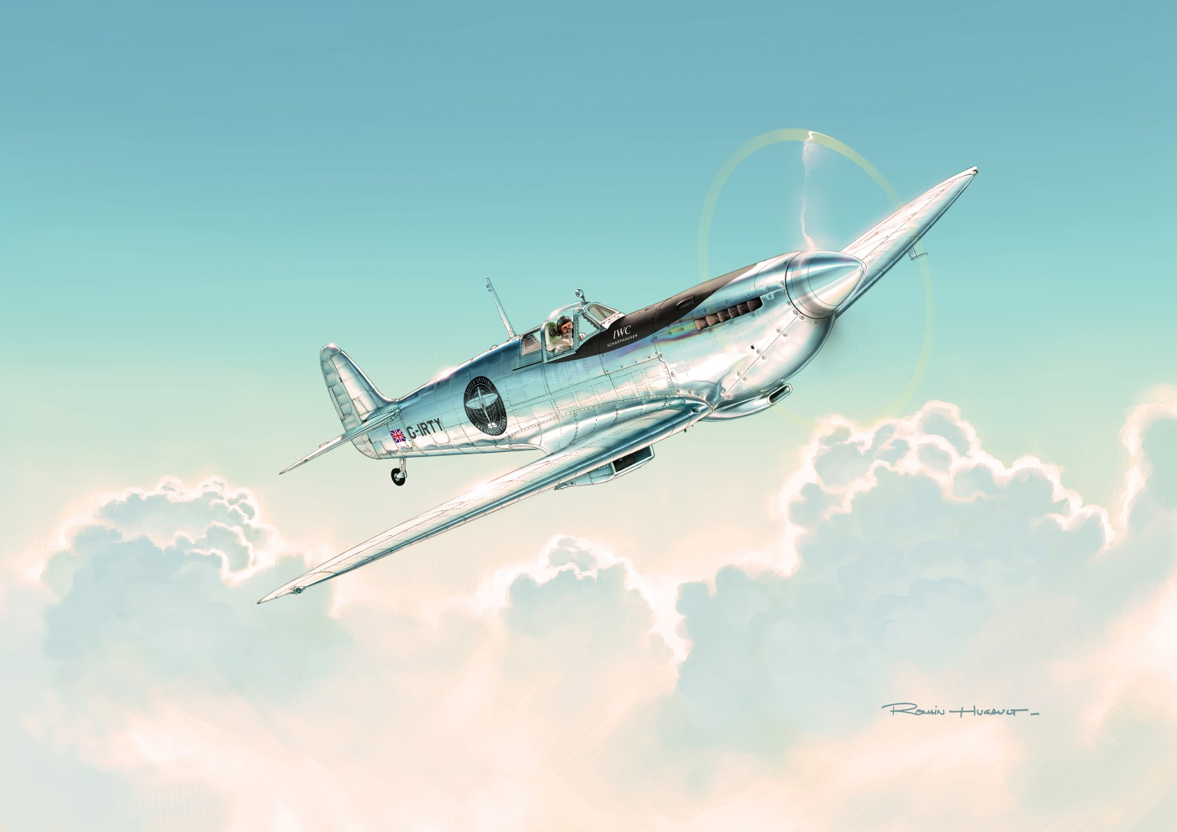 IWC_SILVER SPITFIRE_THE LONGEST FLIGHT