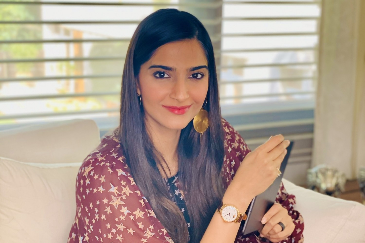 IWC Brand Ambassador and  Indian actress Sonam Kapoor