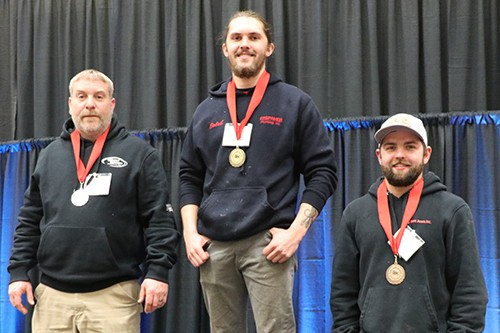 Plumbing apprentices sweep award category at ABC of Wisconsin Skill Competition