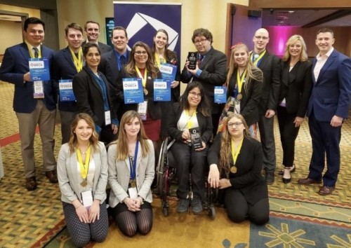 WCTC Collegiate DECA members earn honors at state competition