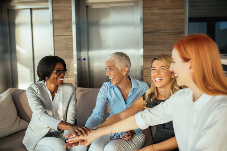 getty - group of business women