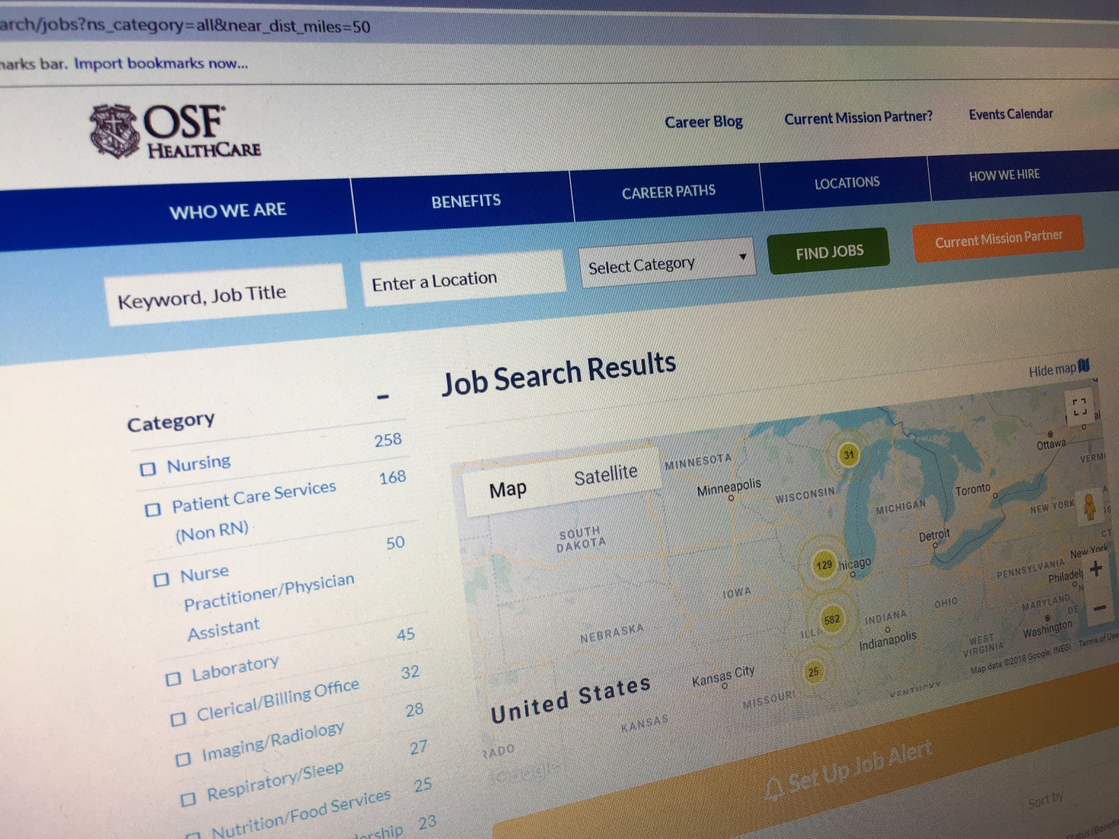 OSF Career Link photo