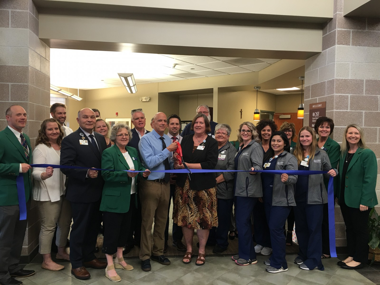SEMC Cancer Ctr. ribbon cutting