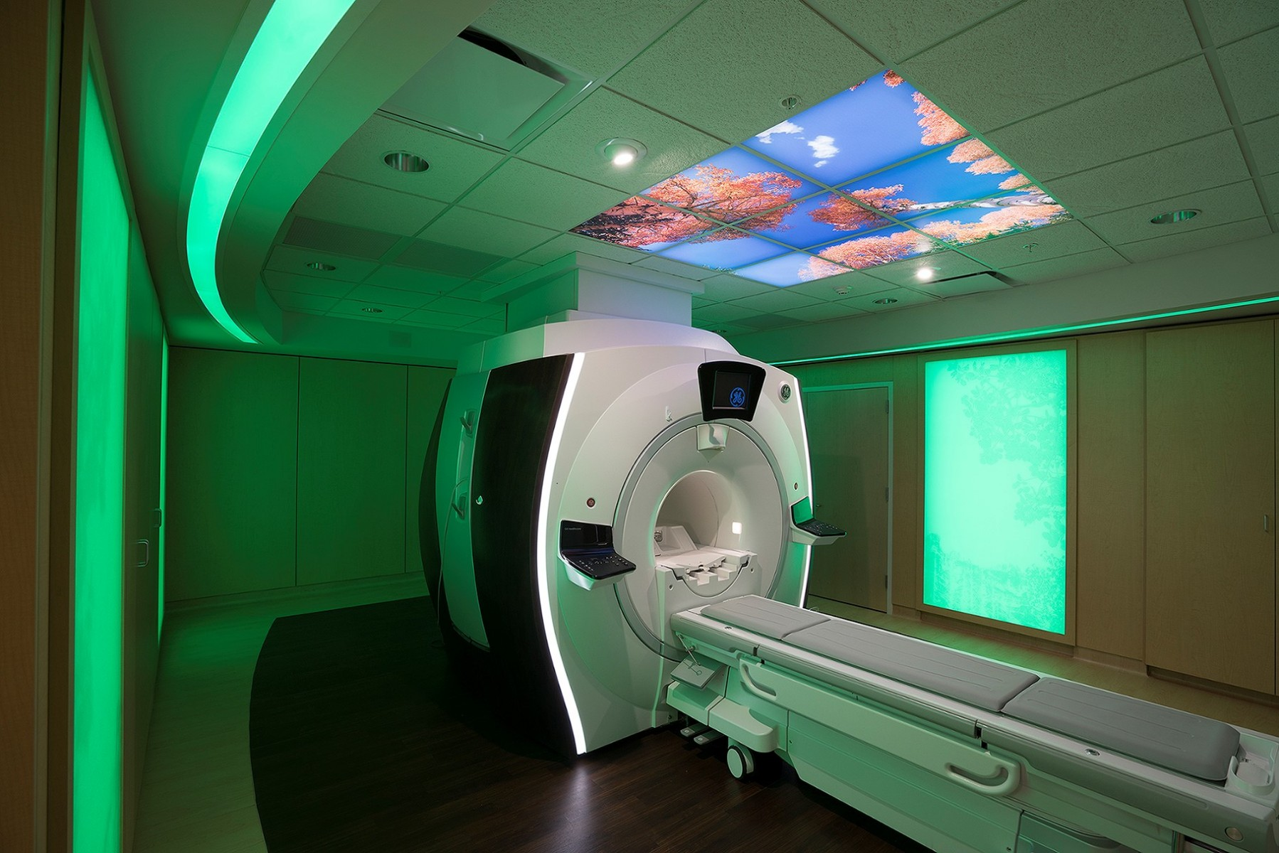 Wide Bore MRI - green