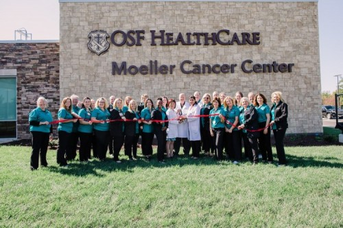 Riverbend Celebrates Opening of New  OSF HealthCare Moeller Cancer Center