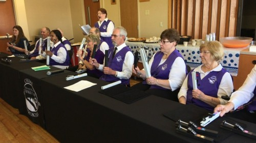 Stroke Survivors Hit the Right Note