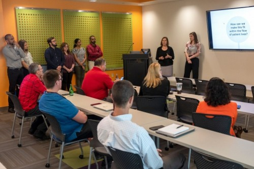 Students Help OSF Innovation Design Solutions to Help Older, Rural Residents