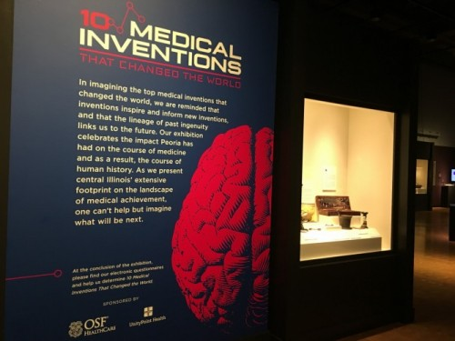 New Exhibit Highlights Medical Inventions
