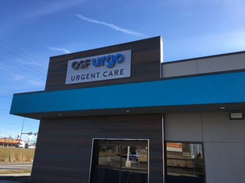 Third OSF Urgo to Open in Bloomington-Normal