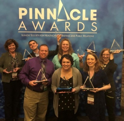 OSF Marketing and Communications Teams Recognized  with Pinnacle Awards