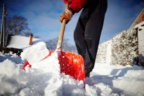 Be Smart When Clearing Old Man Winter's Snow