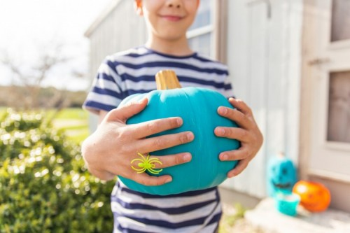 Teal Pumpkins Remove the Scary Side of Halloween