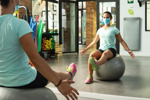 Returning to the Gym; Strategies for Wearing a Mask