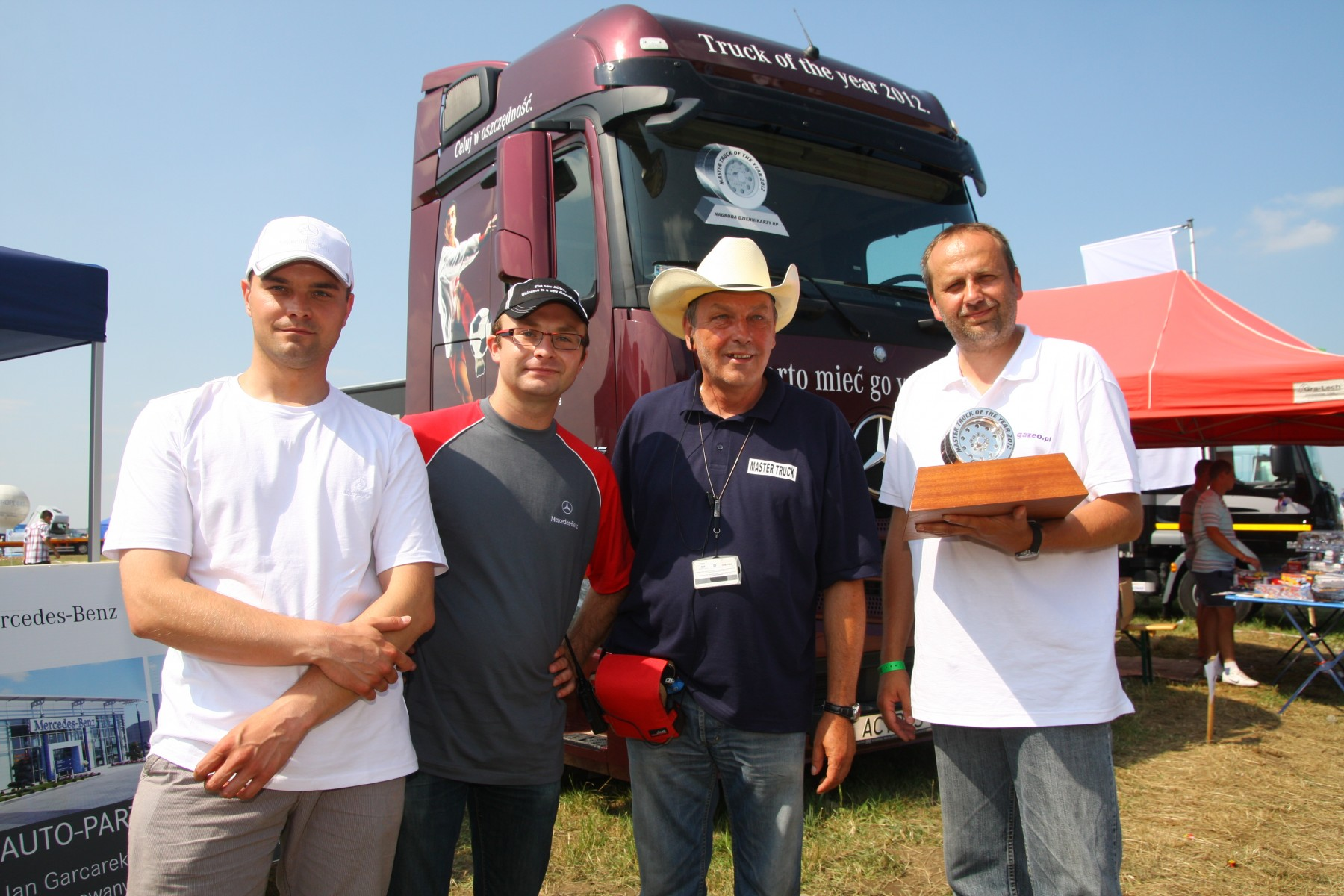 Kolejny triumf Actrosa: Master Truck of the Year 2012
