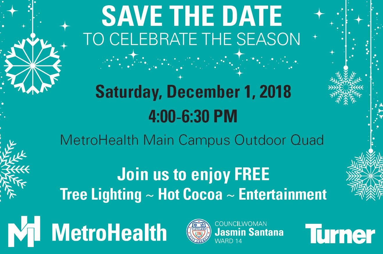 tree lighting save the date