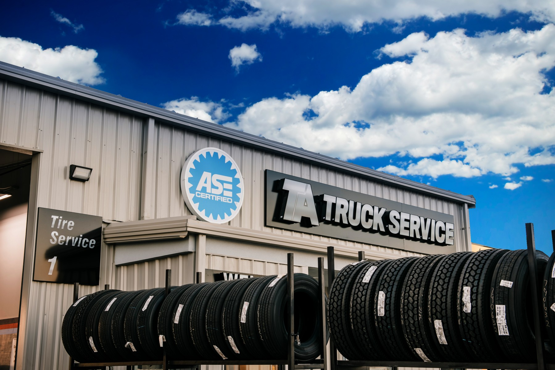 Ta Truck Service Commercial Tire Network Provides Easy