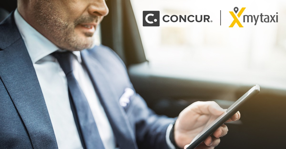 Concur mytaxi