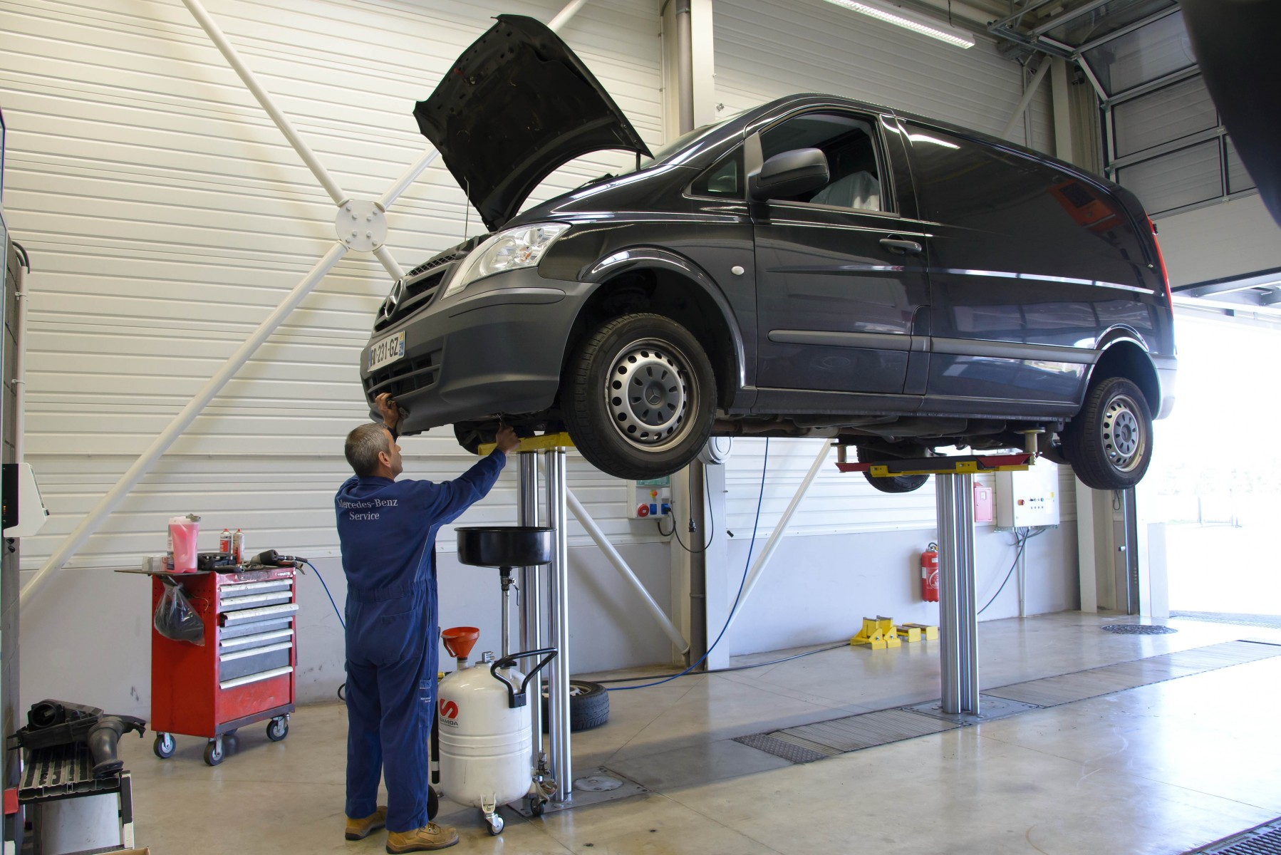 Nouveau : le Pack Maintenance Mercedes-Benz
