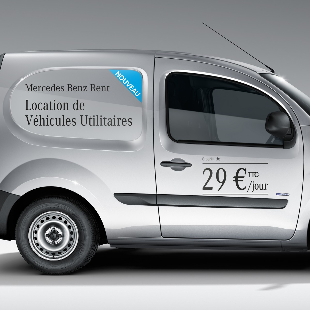 Mercedes-Benz Vans et Mercedes-Benz Financial Services lancent Mercedes-Benz Rent Vans