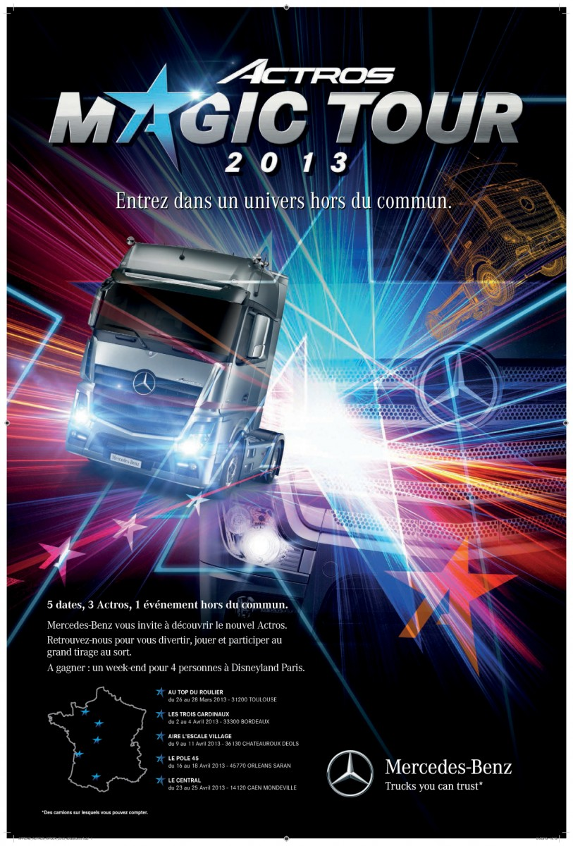 Actros Magic Tour 2013
