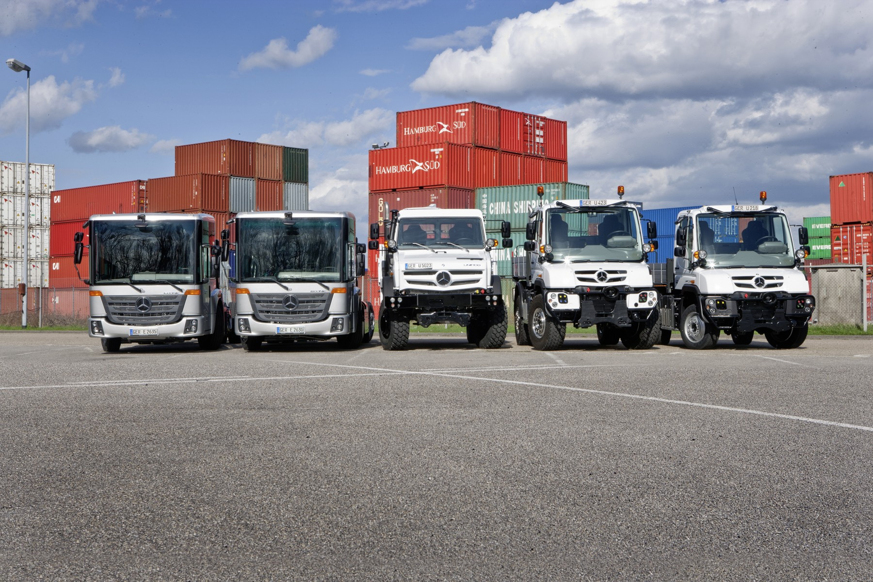 Unimog et Econic : plus propres, plus efficients, plus performants
